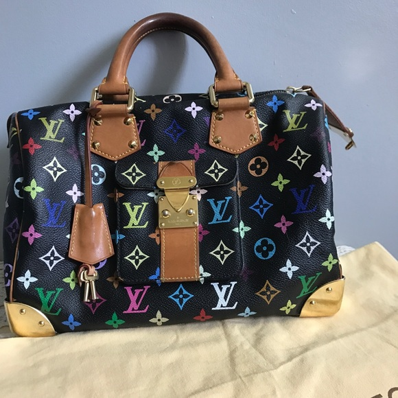 3b2065e0a0a3 Louis Vuitton Handbags - Louis Vuitton murakami multicolor speedy